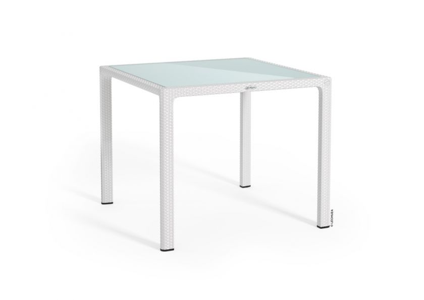 Small Dining Table - Glass Top